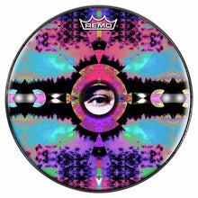 Visionary Expansion Design Remo-Made Graphic Drum Head by Visionary Drum; psychedelic drum art