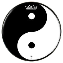 Yin Yang Graphic Drum Head - Powered by Remo
