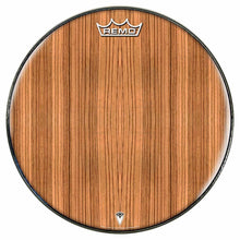 Zebrawood Design Remo-Made Graphic Drum Head by Visionary Drum; nature drum art