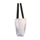 COTTON CANVAS REUSABLE SHOPPING TOTE BAG  - FARM TO TABLE PRINT ( 50 pcs/case )