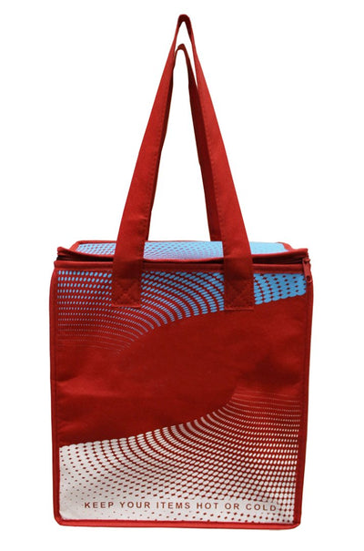 INSULATED GROCERY SHOPPING BAG TOTE ( 40 pcs/ case )