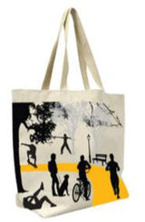 100% Cotton or Poly/Cotton standard reusable shopping tote