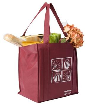 Non-Woven PP, standard reusable shopping bag