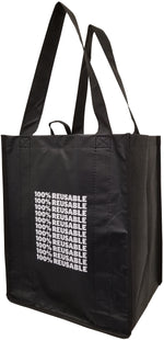 6 Bottle reusable wine bag with  sewn in partitions