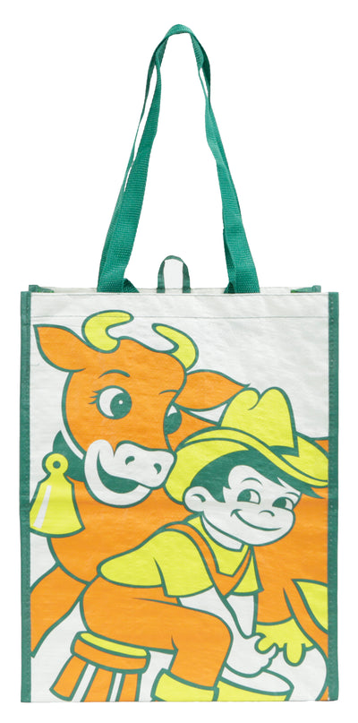 Laminated Woven PP reusable grocery shopping bag