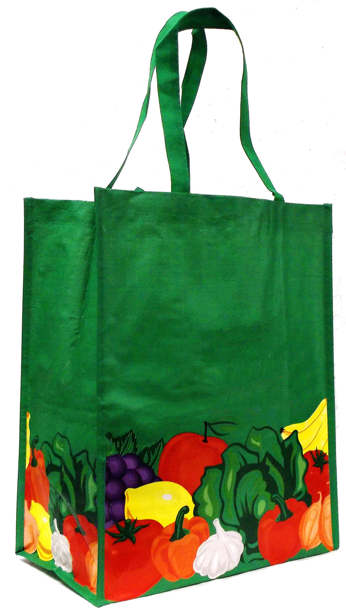 Laminated Non-Woven PP, reusable shopping tote