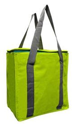 600D Polyester lid top insulated bag with zip closure