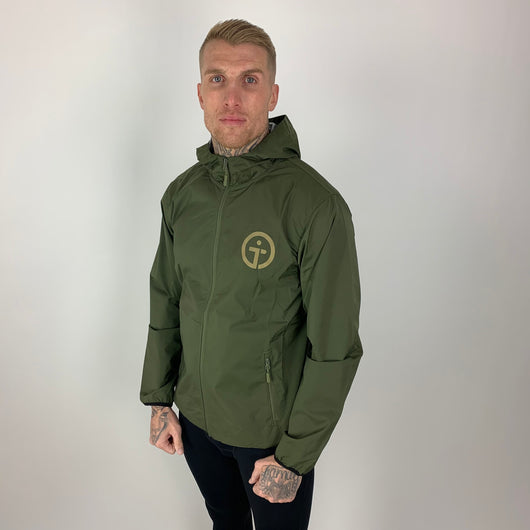 Waterproof Jacket - KHAKI GREEN