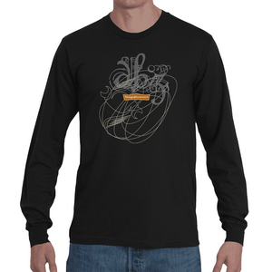 Scribble On Z / Men's Long Sleeve Tee