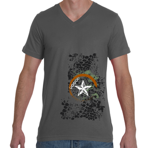 Footprints of the Stars / Men's V-Neck Tee