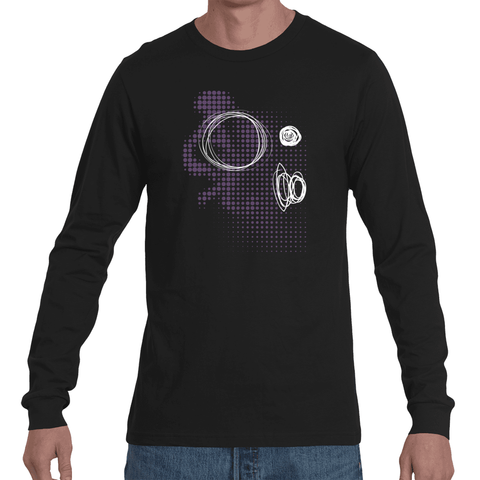 3 Zeros in Time Long Sleeve Tee