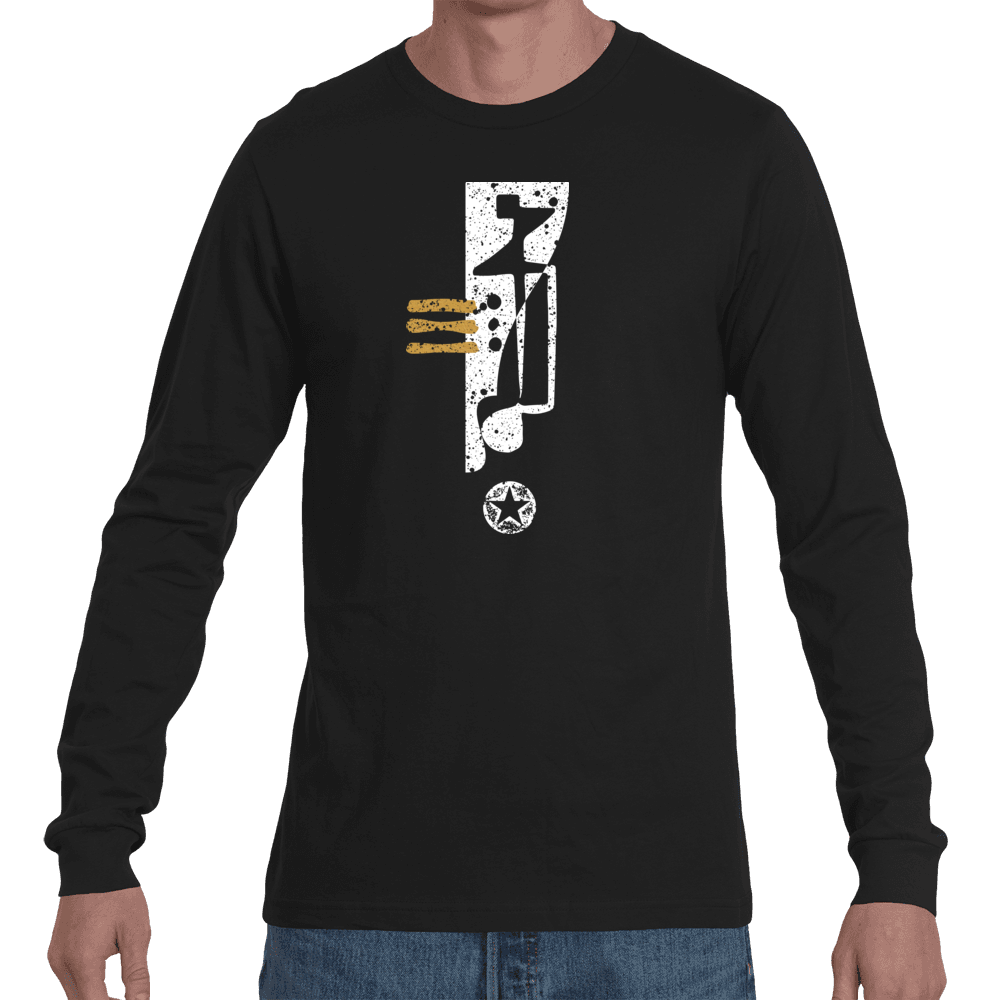 Negative Stance Long Sleeve Tee