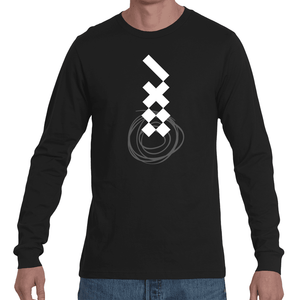 X X Swirl Long Sleeve Tee