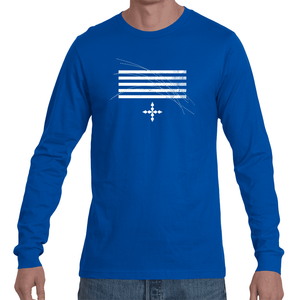 Stripes of Time long sleeve tee