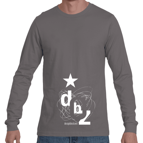 DBZ Black Star Long Sleeve Tee