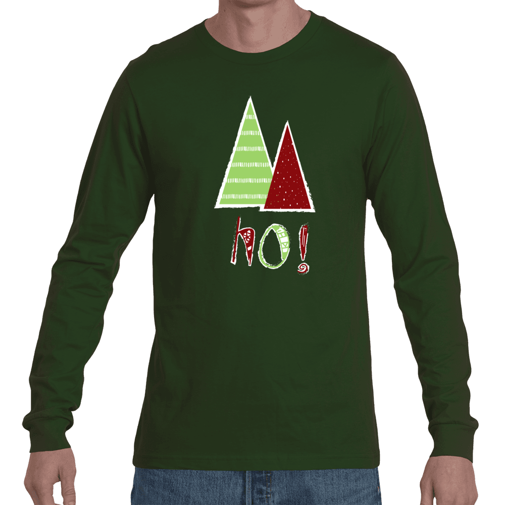 DBZ Holiday Tree of Ho! Long Sleeve Tee