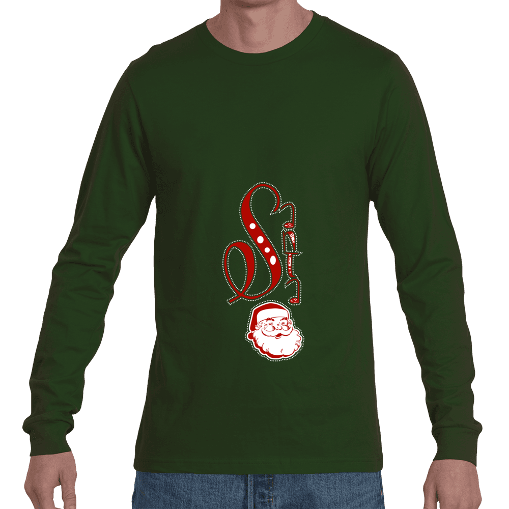 DBZ Santa Long Sleeve Tee