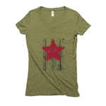 Star Wood Organic Women's Hemp V-Neck Tee