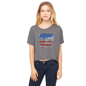 Remnants of the Flag Women's Soft Flowy Tee