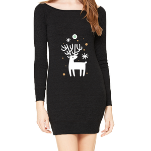Deerfield Ladies Sweater Dress
