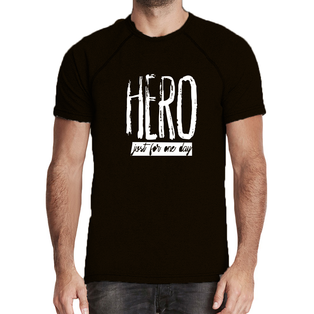 Hero Just For One Day Mock Twist Tee