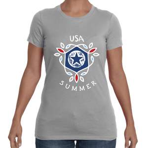 Summer in the USA Women's Tee