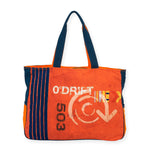 Orange Driver Oversized Tote