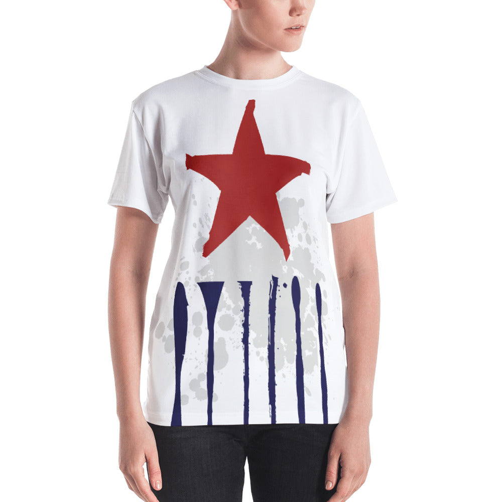 Stripe Star Women's T-shirt