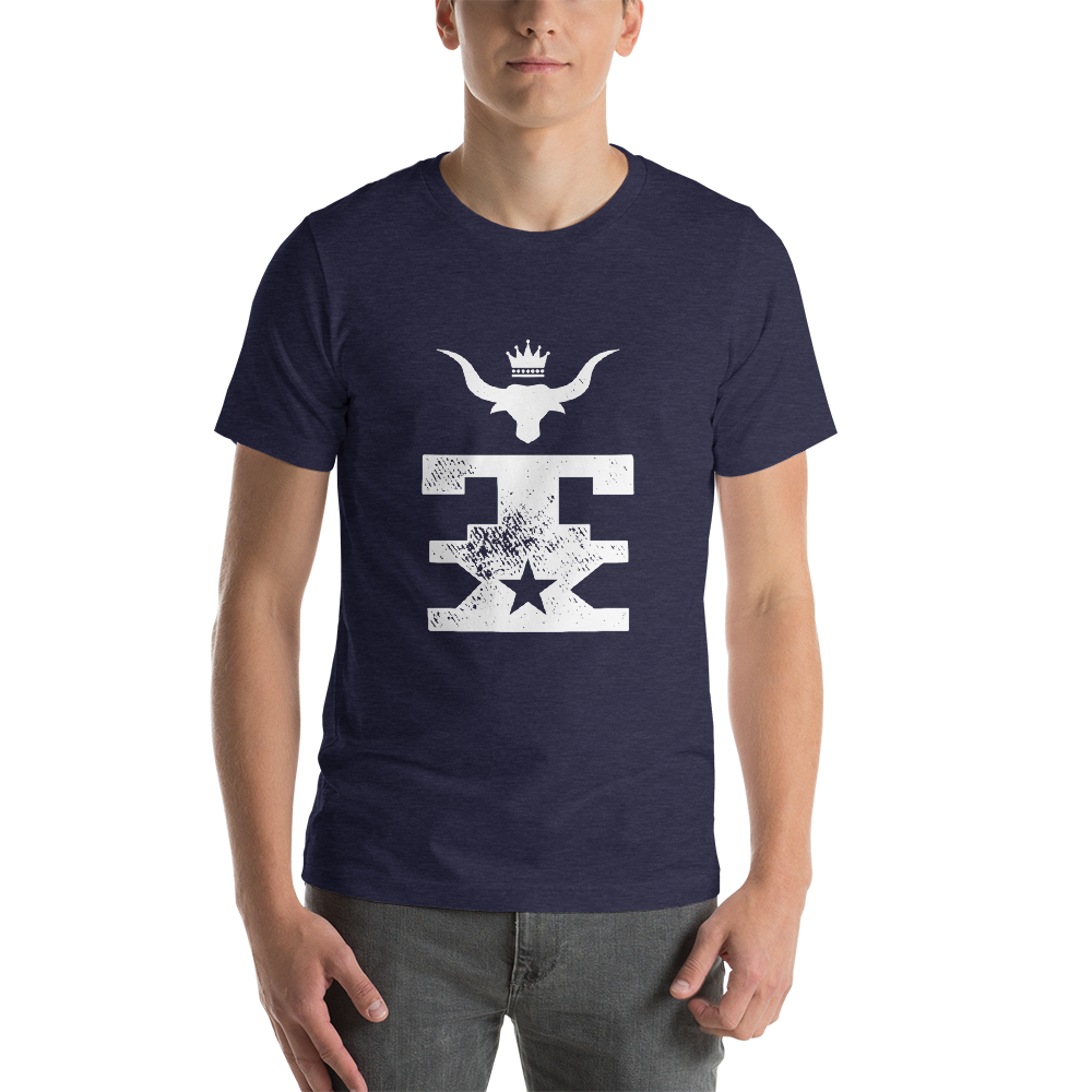 TX Longhorn King Short-Sleeve Unisex T-Shirt