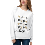 Heart Field Of Love Unisex Sweatshirt