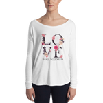 LOVE is All You Need Ladies' Long Sleeve Tee