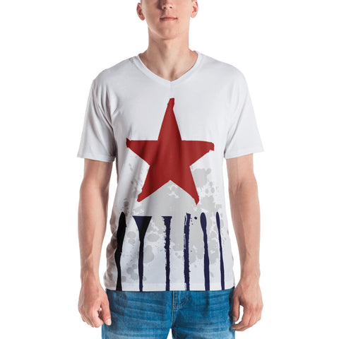 Men's Stripe Star Tee