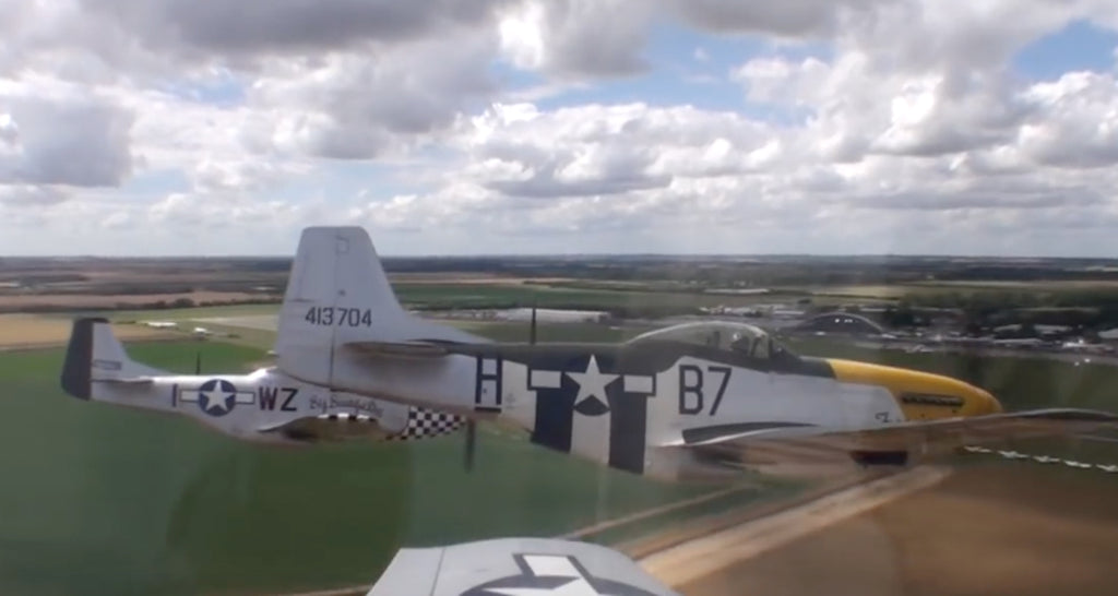 Fly with the Horsemen, A Pilot's eye view of a Mustang Formation