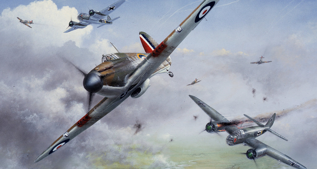 Battle of Britain RAF Hurricane Pilots Called Australia Home: Piece of Cake