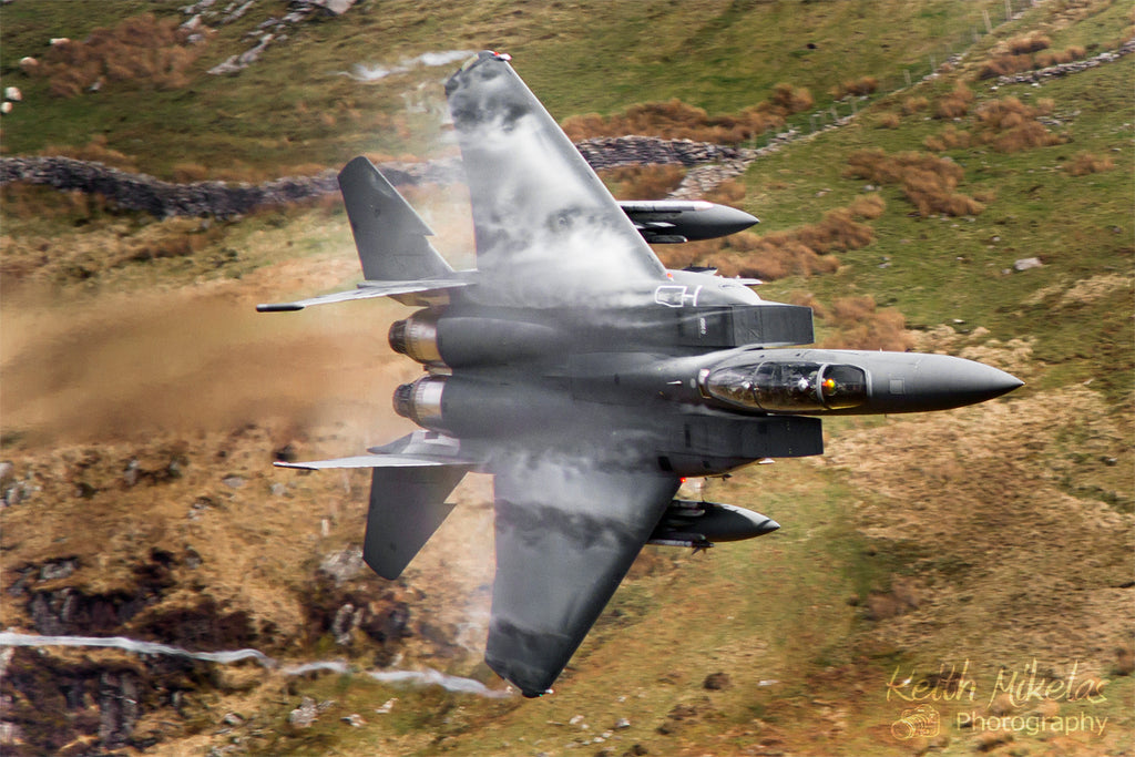 F-15c Grim Reaper Mach Loop Fighter Jet