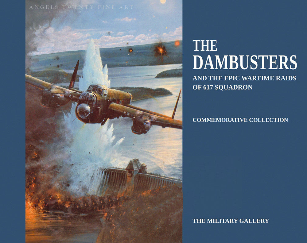 Dambusters: Epic Wartime Raids 617 Squadron. Aviation Art Book Ft Robert Taylor