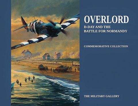 Military Aviation Art Book DDay Normandy WW2 Robert Taylor Spitfire RAF A20 Aviation Art Book Cover