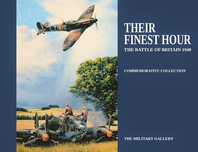 Their Finest Hour: The Battle Of Britain 1940 Military Aviation Art Book ft. Robert Taylor