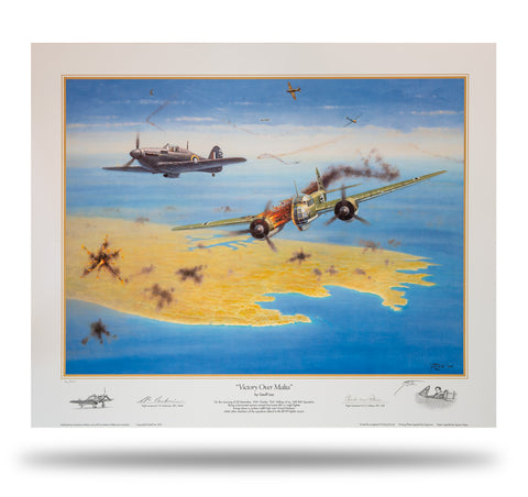 Image of Victory Over Malta by Geoff Lea