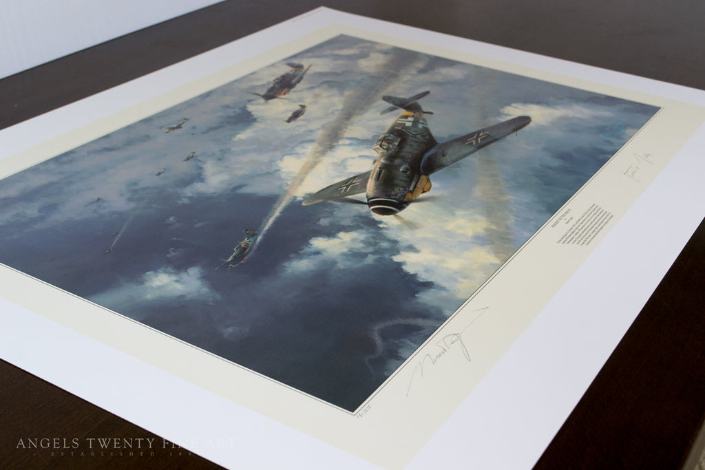 Robert Taylor Knights of the Reich Military Aviation Art Print A20 Aviation Art