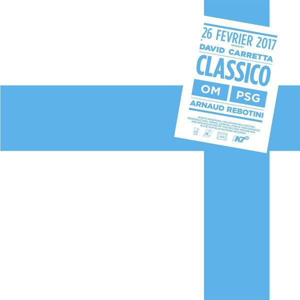 Arnaud Rebotini / David Carretta - Classico EP: Gatefold Music (Hitchin's Independent Record Shop - Vinyl Records and Accessories)