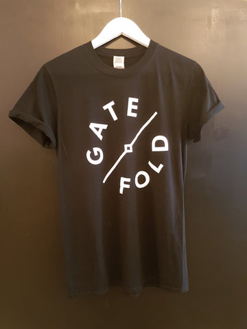 Gatefold Music - Gatefold T-Shirt: Gatefold Music (Hitchin's Independent Record Shop - Vinyl Records and Accessories)