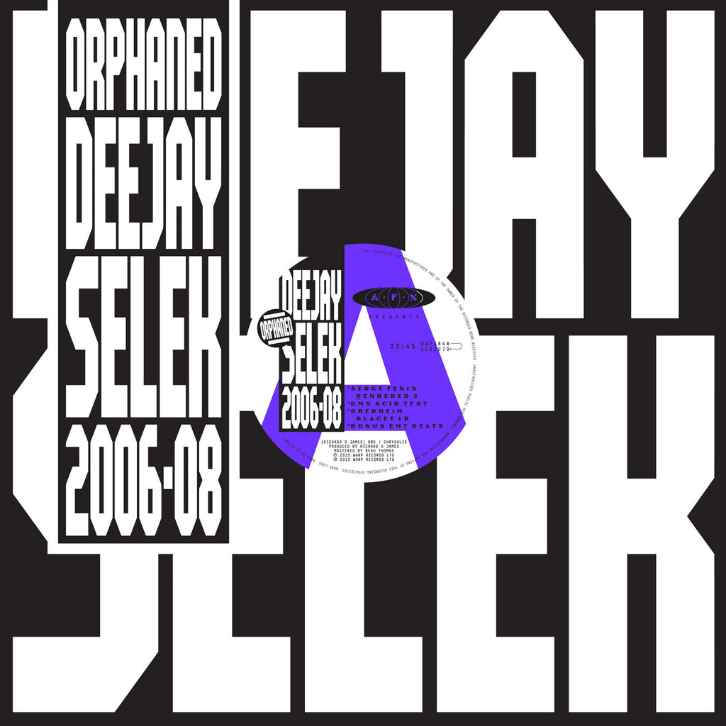 AFX - Orphaned Deejay Salem 2006-2008: Gatefold Music (Hitchin's Independent Record Shop - Vinyl Records and Accessories)