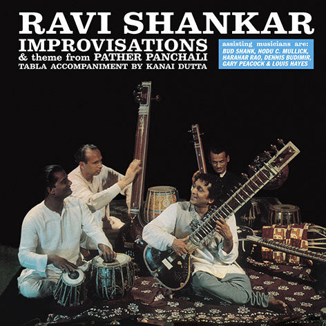 Ravi Shankar - Improvisations: Gatefold Music (Hitchin's Independent Record Shop - Vinyl Records and Accessories)