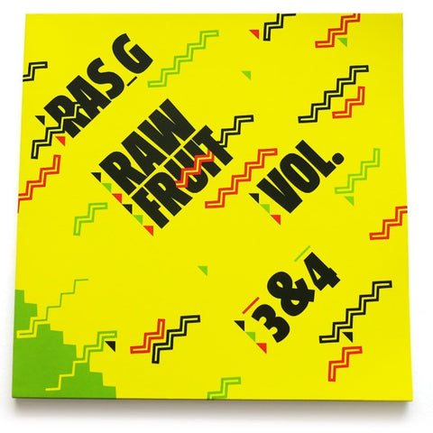 Ras G - Raw Fruit Vol 3&4: Gatefold Music (Hitchin's Independent Record Shop - Vinyl Records and Accessories)