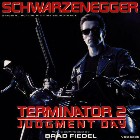 Brad Fiedel - Terminator 2 OST: Gatefold Music (Hitchin's Independent Record Shop - Vinyl Records and Accessories)