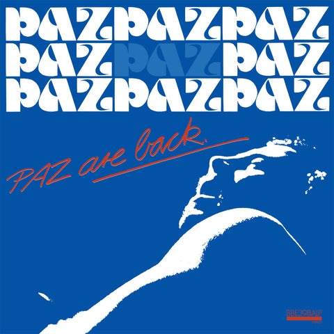 Paz - Paz Are Back: Gatefold Music (Hitchin's Independent Record Shop - Vinyl Records and Accessories)