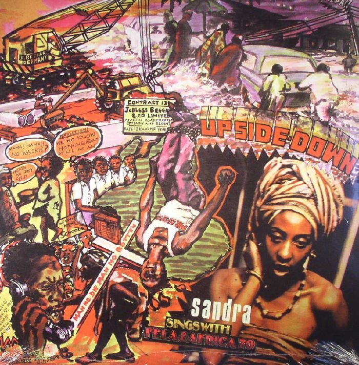 Fela Kuti and Afrika 70 - Upside Down: Gatefold Music (Hitchin's Independent Record Shop - Vinyl Records and Accessories)
