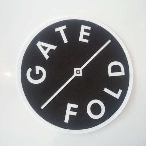 Gatefold Slipmat