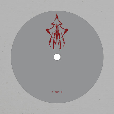 PRESH001 - Flame 1 (The Bug & Burial) - Fog / Shrine 12 Inch Vinyl Single at Gatefold Music